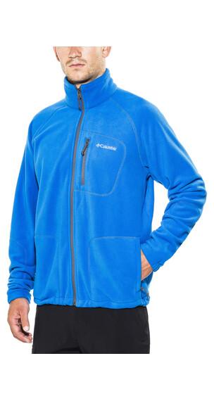 Columbia Fast Trek II Full Zip Fleece Men Super Blue/Graphite